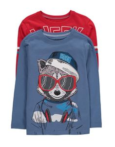 2 Pack Racoon T-Shirts