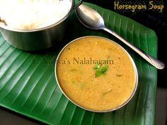 Pacha Kollu Rasam | Horsegram Soup