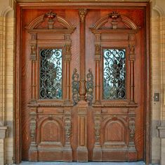 Historical Wood Carved Doors & ironwork