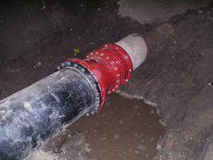 HDPE 630 #E-flex aansluiten op een AC #persriool leiding