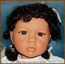 "Lee Middleton ""L'Innocence"" African American Child Doll Eva Helland MIB"