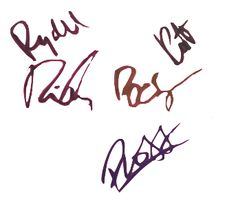 Riker, Ross, Rocky, Rydel and Ratliff just signed your board