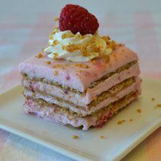 Creamy Raspberry Icebox Dessert Recipe from Land O'Lakes