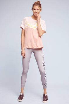 Adidas by Stella McCartney Flower Yoga Tee 328dd46be