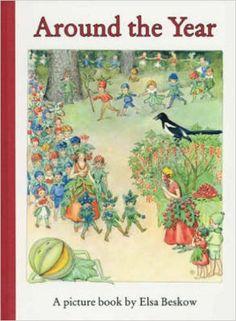 Amazon.co.jp: Around the Year: Elsa Maartman Beskow: 洋書