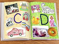 Make an ABC collage book with your child