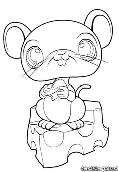 lps mouse - Lps Coloring Book