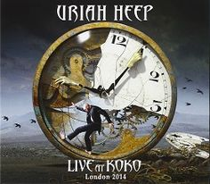 Uriah Heep Live at Koko. Celebrating 45 years i rock. Stunning show on DVD.