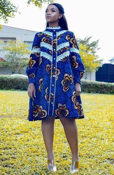 African Fashion Ankara, Latest African Fashion Dresses, African Print Fashion, Africa Fashion, Short African Dresses, African Print Dresses, Short Kaftan Dress, Kaftan Style, African Print Dress Designs