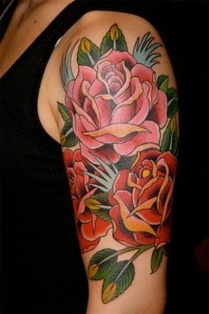 Fotos de Tatuajes de Flores – Rosas – Rose Tattoos