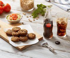 Ρεβυθοκεφτέδες Vegetarian Recepies, Veggie Recipes, Vegan Vegetarian, Food Categories, Finger Foods, Falafel, Recipies, Meat, Vegetables