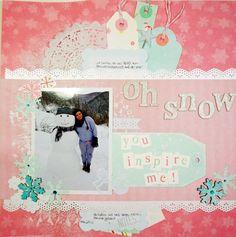 Oh Snow! - Scrapbook.com