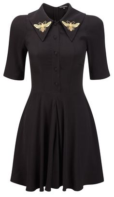 black bee dress from coco fennell £79.00