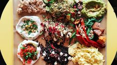 FeaturesFeaturesStories from The Takeout about food, drink, and how we live.There's evidence to suggest that Israeli food has recently stepped into the spotlight: LA's Freehand hotel just opened a … Amsterdam Food, Plant Based Snacks, Israeli Food, Israeli Salad, Dairy Free Diet, Singapore Food, Portuguese Recipes, Portuguese Food, Vegan Options