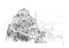 Bravely Default - Concept by Akihiko Yoshida