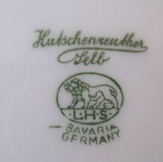 "Mom's china Hutschenreuther Gelb ""Turvel"""
