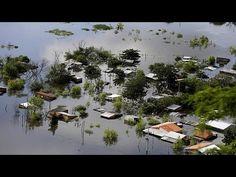 Decenas de miles de evacuados por las inundaciones en Paraguay, Uruguay y Argentina - YouTube
