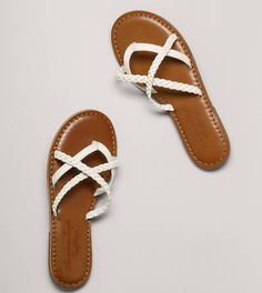 AEO Braided Slide...cuter than flip-flops