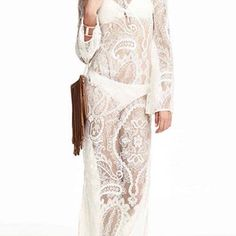 dress backless maxi dress white dress backless dress lace dress white sleeve dress cute long sleeves white lace cute dress summer dress long girl style summer top maxi summer outfits girly zaful see through see through dress girly wishlist lace dress long