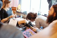 A one-day event celebrating tattoo culture, illustration, and print & craft!