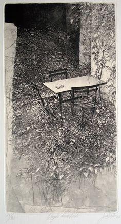 Livio Ceschin (Italian, b.1962)etching and drypoint.