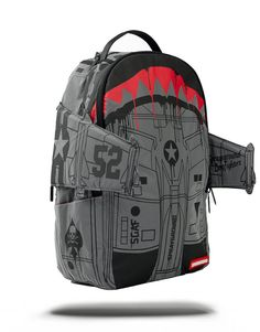 322286ee6eb B52 3M REFLECTIVE BOMBER WING   Sprayground Backpacks, Bags, and  Accessories Black Backpack,