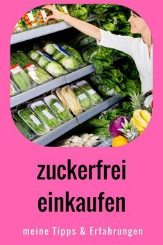Shopping sugar-free is easy, if you know how. And it is the basis for the sugar-free diet. Sugar Free Diet, Sugar Free Recipes, Clean Eating Dinner, Keto Dinner, Detox Recipes, Smoothie Recipes, Cheesecake, Detox Drinks, How To Lose Weight Fast