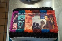 I've seen this cake so many times and it is beautiful!!! From 'Evening Out With Your Girlfriend' to 'Folie A Deux'!!!! Make the cake a little longer and put Save Rock And Roll and Pax•Am Days on there!!!! I would go all out and put food coloring in each part of the cake as the color of the record!!!!
