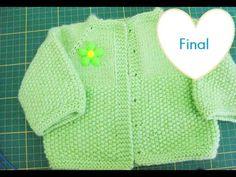 Casaquinho com mangas sem costura – Top down – Tricotando Crochê