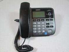 Uniden DECT 6.0 Model D1688-3T Corded Phone System - Base Only #Uniden