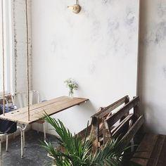 maman | greenpoint, brooklyn // coffee shop corner perfection