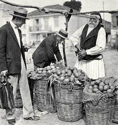 """Markt in Tripolis, National Geographic Magazine, Dezember 1930 Maynard Owen Williams: """"New Greece, the Centenarian, Forges Ahead"""" Rare Images, Vintage Images, Arcadia Greece, National Geographic Images, Old Greek, 1920s, Corfu Greece, Greek History, Pulp"""