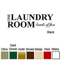 Loads Of Fun Laundry Room Quote Vinyl Wall Lettering Vinyl - Vinyl decals for textured walls