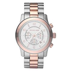 Michael Kors Oversized Two-Tone Watch MK8176 Sport Watches, Men s Watches,  Luxury Watches d9859907c8