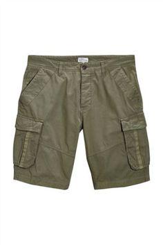 Green Premium Cargo Shorts