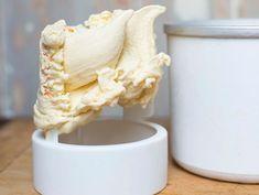Goat Cheese Nasturtium Ice Cream