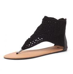 Crochet sandals...
