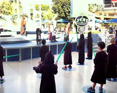 jedi-training-academy-Disneyland - just in case we ever make it to Disneyland