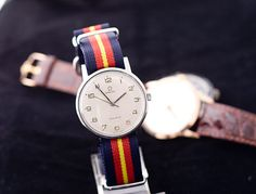 Accessories are a great way to change up your look without having to buy a new wardrobe. Funky watches, such as this Vintage Omega watch, can be statement pieces.
