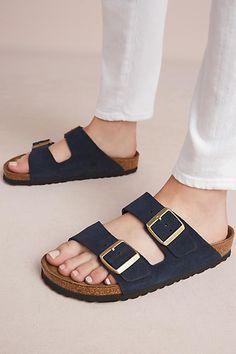 Birkenstock Navy Arizona Sandals