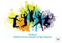 """""""Umut, gençliktedir!"""" 19 Mayıs Atatürk'ü anma, gençlik ve spor bayramı kutlu olsun!"""