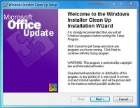 UTILITY INSTALLER TÉLÉCHARGER 2.5.0.1 CLEANUP WINDOWS