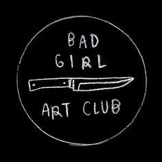 Bad Girl Art Club | @lemaddy on Instagram