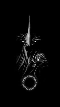 (notitle) - Lord Of The Rings Lord Of Rings, Lord Of The Rings Tattoo, Tatouage Tolkien, Hexenkönig Von Angmar, Witch King Of Angmar, Lotr Tattoo, Lich King, Dark Drawings, O Hobbit