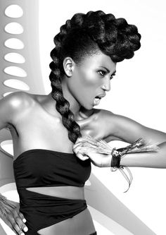 FIERCE + BEAUTIFUL = SUPREME YUMMINESS!!! Hair by Craig Chapman: Mizani Afro Catwalk Awards Live Finals 2012: The Judges Speak