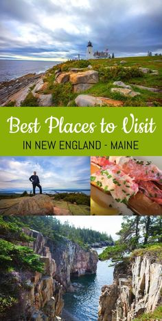 Check out the best places to visit in Maine USA. From Portland to Bar Harbor, visit beautiful lighthouses, eat great food and visit the beautiful coastline. Check out the best places to visit in Maine USA. From Portland to Bar Harbor, visit bea. Usa Travel Guide, Travel Usa, Travel Guides, Travel Tips, Travel Maine, Brazil Travel, Globe Travel, Beach Travel, Travel Goals