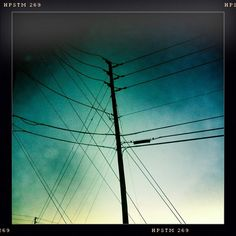 Orlando is wires against a sky.