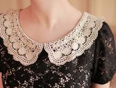 Resultado de imagem para black and white crocheted