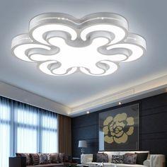 Moderne Wohnzimmer Deckenlampen Attraktiv Wirkende Led Deckenlampe ... Moderne Wohnzimmer Deckenlampen