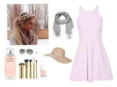 """""""Untitled #1"""" by julhes17 ❤ liked on Polyvore featuring beauty, Calvin Klein, tarte, Essie, Elizabeth and James, Ray-Ban, maurices and Topshop"""